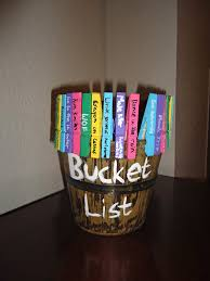 sisters on blackwell bucket list display