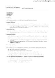dental hygienist resume sle dental hygienist resume paso evolist co