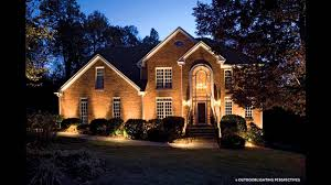 garden ideas landscape lighting pictures gallery youtube