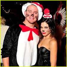 Halloween Costumes Cat Hat Channing Tatum U0026 Jenna Dewan Halloween U0027s Hottest U0027cat