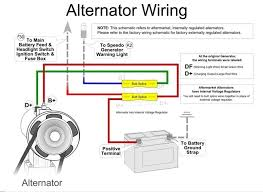 wiring diagram alternator voltage regulator intended for automotive