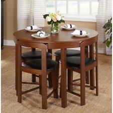 compact dining table and chairs small dining table ebay