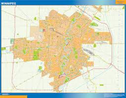 winnipeg map winnipeg map netmaps usa wall maps shop