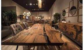 epoksi ceviz modern yemek odası balhome mobilya