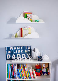 Cloud Shelf For Kids Room Baby Nursery Wall Decor Bedroom Hanging - Shelf kids room