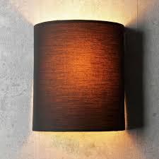 Schlafzimmer Lampe Schwarz Loft Lampe Wandleuchte Schwarz Metall Und Stoff Flexibel