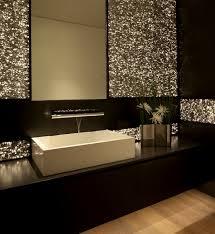 sparkly bathroom sink beach house in laguna beach california