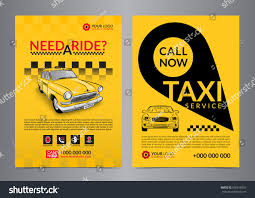 taxi pickup service design layout templates stock vector 639618526