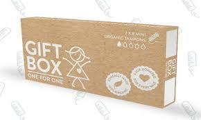where can i buy a gift box minimum effort maximum impact giftbox organic tampons made 4