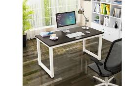 home office writing desk amazon com gootrades home office computer table 47 sturdy
