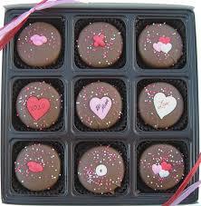 valentines chocolate s day gift box of 9 milk chocolate oreo