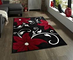 Red Black White Area Rugs Rug Red Black And White Rugs Nbacanotte U0027s Rugs Ideas