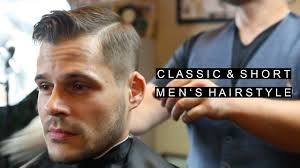 Natural Mens Hairstyles by Classic Short Men U0027s Hairstyles Easy To Maintain Business
