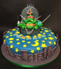 ninja turtles birthday cake cake by davide minetti cakesdecor