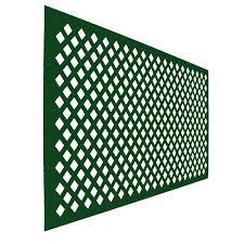 icon plastics 2400 x 1200 x 4mm open lattice charcoal bunnings