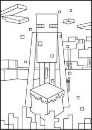 printable minecraft coloring villager create minecraft