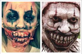 Halloween Makeup Clown Faces by American Horror Story Freak Show Clown Inspired Makeup Youtube