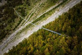the world u0027s longest suspension bridge hangs in switzerland