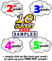 four free math review worksheets for 2nd 3rd 4th u0026 5th grade