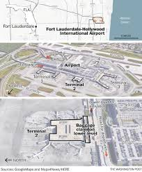 Map Of Florida Airports by Five Killed In Fort Lauderdale Airport Shooting Suspect In