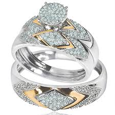 zales wedding ring sets for him and her wedding corners