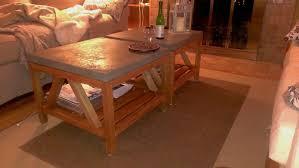 diy crate barrel bluestone coffee tables schoene maison a table
