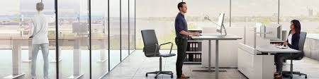 Sit Down Stand Up Desk by Height Adjustable Desks And Workstations With Linear Actuators