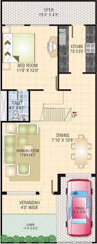 house map design 20 x 50 shikhar housing development pvt ltd