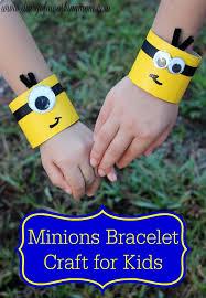 bracelet craft hand images Easy minions bracelet craft for kids minionsmovienight ad jpg