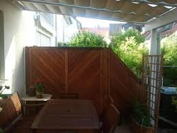 balkon trennwand sichtschutzwand trennwand aus holz in unterschleißheim sonstiges