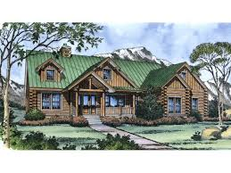 rustic log home plans one level log home plans home timber frame hybrid floor plans log