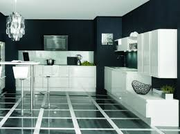 deco cuisine noir et blanc noir et blanc habillent la cuisine cuisine noir design et
