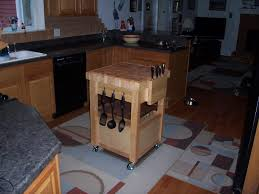 wooden butcher block kitchen cart design ideas and decor