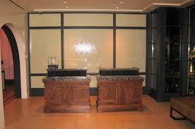custom made front desk by ezequiel rotstain design fabrication