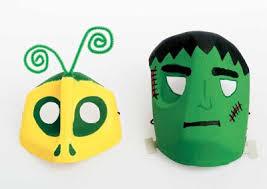 Halloween Decorations Using Milk Jugs - halloween masks milk jugs masking and halloween masks