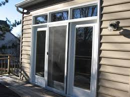 Sliding French Patio Doors With Screens Brilliant Double Sliding Patio Doors With Screens With Best French