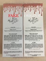how to spot a fake kylie jenner lip kit and where not to buy them
