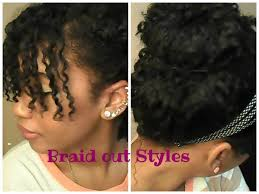 Black Natural Curly Hairstyles For Medium Length Hair Four Perfect Curly Braid Out Hair Styles Short Medium Length