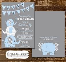 elephant baby shower favors baby elephant baby shower invitations elephant ba blue ba shower