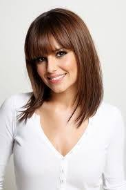 shaggy hairstyles longer in the front classic blonde shag cut with long bangs front view bangs are a