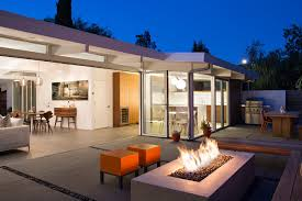 indoor outdoor kitchen designs photo 6 of 8 in 7 modern eichler renovations in california from