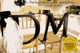 and groom chair and groom chair decor budget friendly wedding idea with