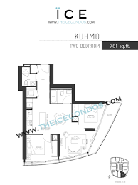 1 Bedroom Condo Floor Plans by Ice Condos For Sale Rent