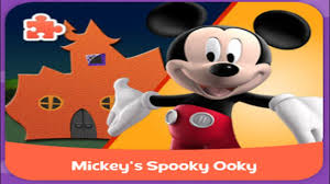 mickey mouse clubhouse full episode game for kids spooky house