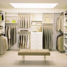 walk in closet modern bedroom decoration using white curtain