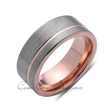 gunmetal wedding band best 25 tungsten wedding rings ideas on tungsten