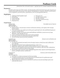 resume exles for fast food fast food resume objective shift leader resume sle fast food