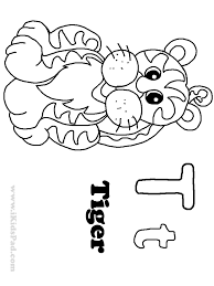 10 images of tiger coloring pages for preschoolers baby tiger