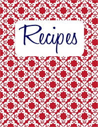 printable recipes templates 40 recipe card template and free printables recipe binders binder