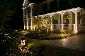 cleveland area landscape lighting design becomes an exquisite
